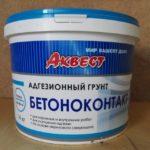 Адгезионный грунт Бетоноконтакт АКВЕСТ